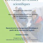 Conférence «reconstruire le changement climatique à partir de la mémoire de la glace»